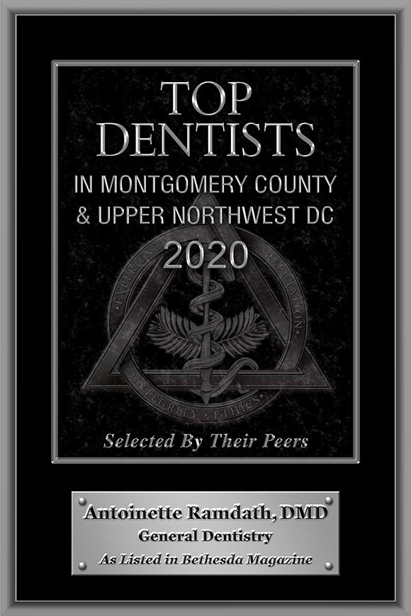 2020 plaque